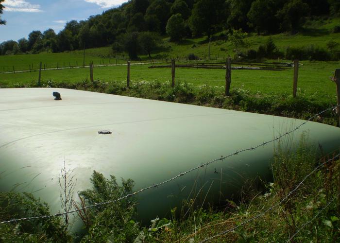 Citerne souple pour effluents agricoles